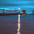 Bokeelia Pier by Michael Frizzell