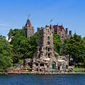 Boldt Castle In Thousand Islands by Les Palenik