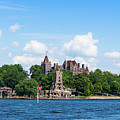 Boldt Castle In Thousand Islands, New York by Les Palenik