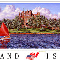 Boldt's Castle Poster by Richard De Wolfe