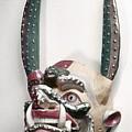 Bolivia: Native Mask by Granger