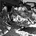Bolivian Dance Black And White by For Ninety One Days
