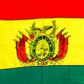 Bolivian Flag by Jess Kraft