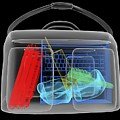 Bomb Inside Briefcase, Simulated X-ray by Christian Darkin