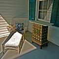 Bon Secour Lounge On The Porch by Michael Thomas