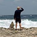 Bonaire Inukshuk Monument by June Goggins