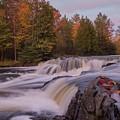 Bond Falls Sunset, Upper Peninsula, Michigan by Paul Schultz
