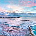 Bondi Beach Icebergs by Az Jackson