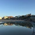 Bondi Wading Pool Reflections by Jen Petrie