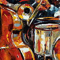 Bone Bass And Drums by Debra Hurd