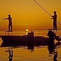 Bone Fishing Florida Keys by Nancy Hoyt Belcher