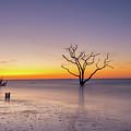 Boneyard Beach Sunrise  by Michael Ver Sprill