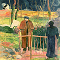 Bonjour Monsieur Gauguin by Paul Gauguin