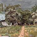 Bonnard: Balcony, 1909-10 by Granger