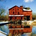 Bonneyville In Winter by Sandy MacGowan