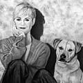 Bonnie Hunt And Charlie by Peter Piatt