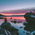Bonsai Rock Sunset by Conner Koch