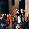 Bonvin: Charity, 1851 by Granger