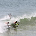 Boogie Boarding Fun by Robert Banach
