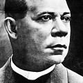 Booker T. Washington, African-american by Photo Researchers