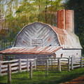 Boone Barn by Shirley Braithwaite Hunt