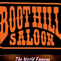 Boot Hill Saloon Sign by DigiArt Diaries by Vicky B Fuller