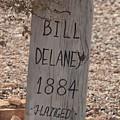 Boot Hill, Tombstone, Az by Bill Jordan