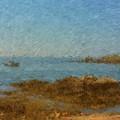 Boothbay Calm Day Ocean View by Viktor Arsenov