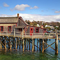 Boothbay Harbor 02287 by Guy Whiteley
