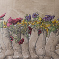 Boots And Flowers by Dan Stephanian