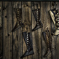 Boots Anyone? by Eleanor Bortnick