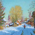 Bor Village by Alexander Alexandrovsky