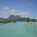 Bora Bora Airport View by Paul Jessop