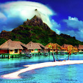 Bora Bora by Pixabay