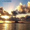 Bora Bora Sunset  by Evelyne Gaudin