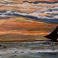 Boracay Sunset by Richard Garingalao