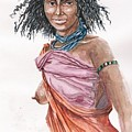 Boran Woman by Wayne Monninger