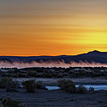 Borax Lake At Sunrise by Cat Connor