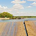 Border On Zambezi River by Marek Poplawski