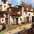 Borgo Di Montagna by Guido Borelli