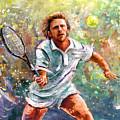Boris Becker by Miki De Goodaboom