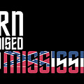 Born And Raised In Mississippi Birthday Gift Nice Design by StyloMart Tees