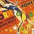 Born To Dance 1936 Retro Movie Poster by R Muirhead Art