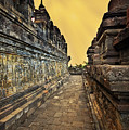 Borobudur Temple by Charuhas Images