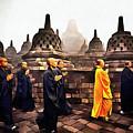 Borobudur by Vix Edwards