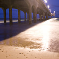 Boscombe Pier by Ian Middleton