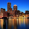 Boston Aglow by Rick Berk