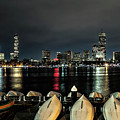 Boston Along The Charles River by Larry Richardson