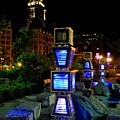 Boston At Night 1 by Andrew Dinh