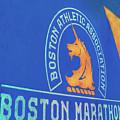 Boston Athletic Association - Boston Marathon by Joann Vitali